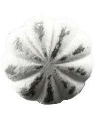 Metallknopp antikvit järn shabby chic lantlig stil