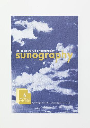 Cyanotype paper, Sunography