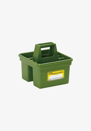 Storage caddy, small green