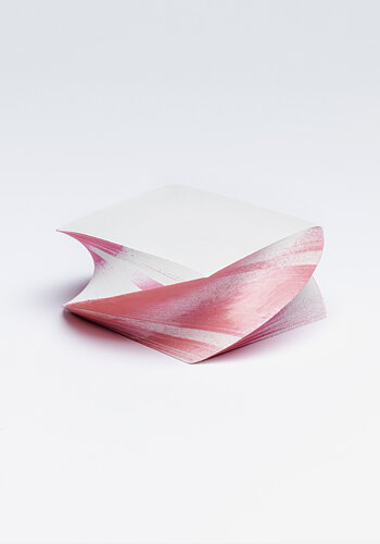 Twisted note pad, Pink