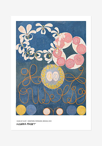 Hilma af Klint, The ten largest, Childhood, No. 1