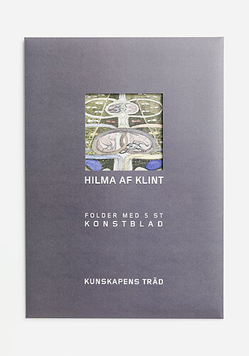 Folder with prints from the series The Tree of Knowledge, Hilma av Klint