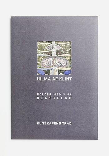 Folder med konstblad ur serien Kunskapens träd, Hilma af Klint