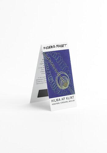 Bookmark, Hilma af Klint, Primordial Chaos, No. 16