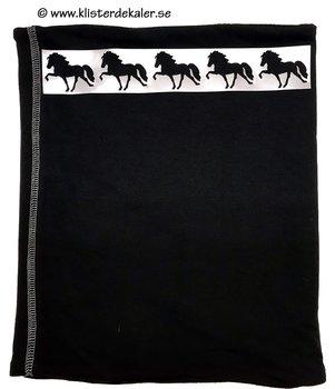 scarf tube Icelandic horses, reflective
