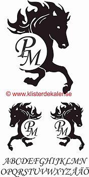 Horse +initials