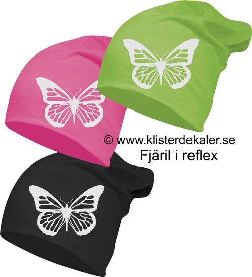 Reflexmössa Döskalle 11olika färger. klisterdekaler