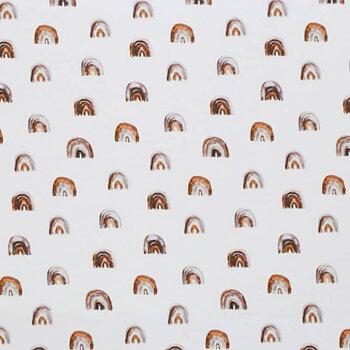 Mini regnbågar i brunt och rost