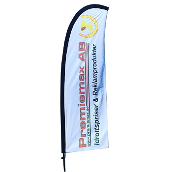 Beachflagga Medium, 1-3 st