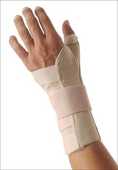 Justerbart ortopediskt handledsstöd, vänster hand