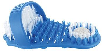 Sweepie voetborstel met puimsteen, blauw