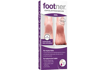Footner Exfoliating Socks Heel