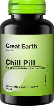 Great Earth  - Chill pill 60 tabletter