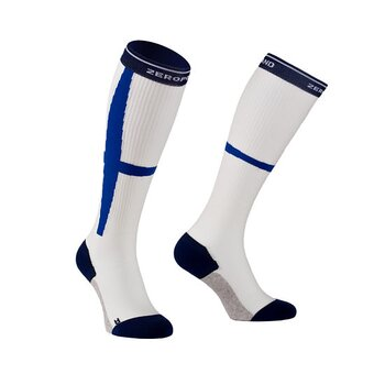 ZeroPoint Hybrid Sock, vit/blå