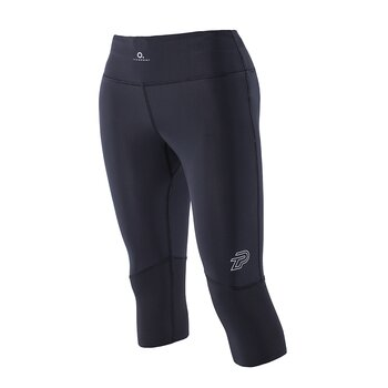 ZeroPoint Athletic Compression 3/4 Tights, sort