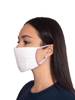 Ansigtsmaske / mundbeskyttelse i tekstil - 5 pakker