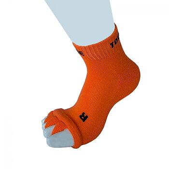 ToeToe Health teenscheider-sokken, Oranje