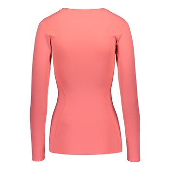 ZeroPoint Athletic Compression LS Top, Pink Soda
