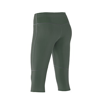 ZeroPoint Athletic Compression 3/4 Tights, army