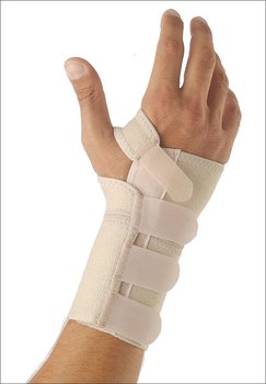 Handledsstöd för vänster hand