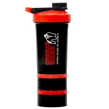 Shaker 2 Go 760 ml, black/red