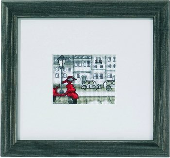 Scooter mini embroidery no 14-1325 cross stitch