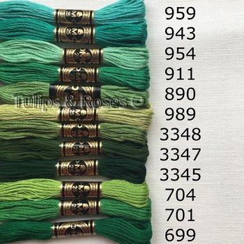 Mouliné Stranded cotton DMC Special 25 Gren hues