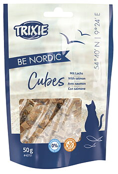 Be Nordic Salmon Cubes 50 g