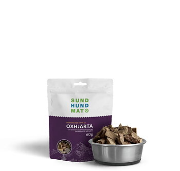 Freeze-dried Beef Heart Treats 60 g-1.8 kg