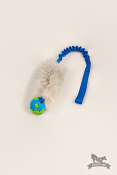Bungee Sheepskin Orbee Tuff Planet Ball Tug