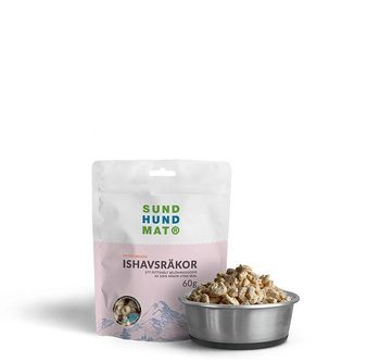 Freeze-dried Sea Shrimp Treats 60 g-1.8 kg