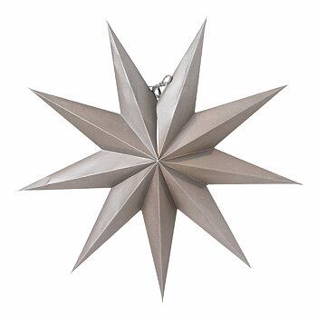 Stjärna, Boris 50 mörk grå, från Watt & Veke