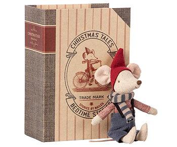 Julmus i en bok, Christmas Tales Storebror, från Maileg