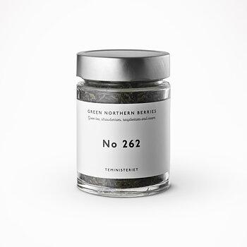 Te, No 262, Green northern berries, från Teministeriet