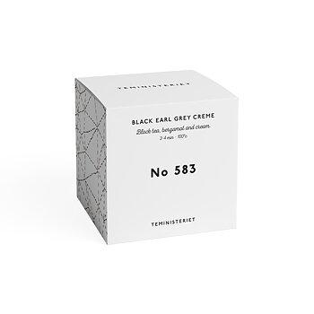 Te, No 583, Black earl grey creme, 100g, från Teministeriet