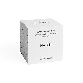 Te, No 531, Black vanilla chai, 100g, från Teministeriet