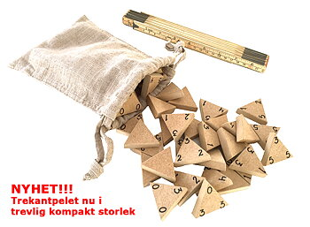 "Novelty!!! Triangle game ""the original"" in Travel Size"