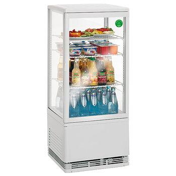 Kyldisplay - 78 liter - vit