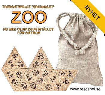 "Jeu de Triangle  ""original"" ZOO"