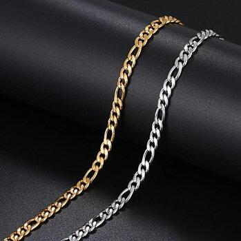 316L rostfritt stål Armband GULD/SILVER