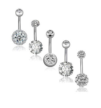 Navel Piercing 5 pcs/set