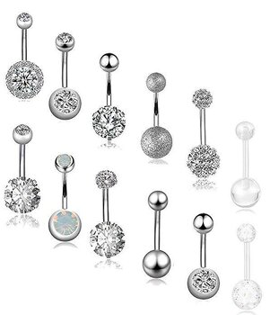 Navel Piercing 12 pcs/set