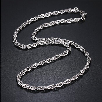 Stainless steel necklace 4*500mm