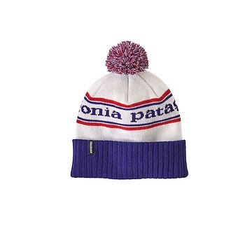 Patagonia - Powder Town Beanie - Park Stripe: Viking Blue