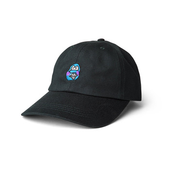 Polar Skate Co. - Dance Face Cap - Black