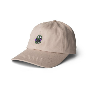Polar Skate Co. - Dance Face Cap - Sand