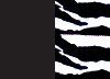Svarta hotpants med dekorkant på benet