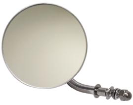 "Backspegel,Rund 4"",H+V,Chr"