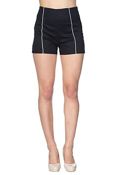 Banned Apparel - Land Ahoy Black Shorts
