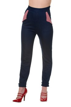 Banned Apparel - Blueberry Hills Trousers